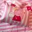 ผ้าปูที่นอนลายการ์ตูนหมู สีชมพู PepPa Pig thumbnail 4