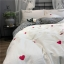 ผ้าปูที่นอน งานปักลายหวใจ ลายสก๊อต thumbnail 5