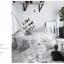 ผ้าปูที่นอน ลายสวยสีขาว-ดำ-เทา ลายกราฟฟิก thumbnail 3