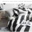 ผ้าปูที่นอน ลายทางสีขาว-ดำ ลายกราฟฟิก thumbnail 7