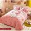 ผ้าปูที่นอน ลายแมวมาเรีย สีชมพู thumbnail 1