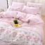 ผ้าปูที่นอน ลายมายเมโลดี้ สีชมพูอ่อน My Melody thumbnail 1