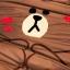 ผ้าปูที่นอน ลายหมีบราวน์ โคนี่ เนื้อผ้าคอตตอนซาติน thumbnail 7