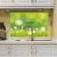 """สติ๊กเกอร์ติดครัวกันน้ำมันกระเด็น """"Green Dandelion"""" ขนาด 60 cm x 90 cm thumbnail 3"""