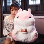 ตุ๊กตาหนูแฮมสเตอร์ Hamster สีชมพู