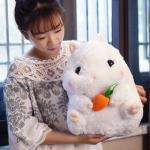 ตุ๊กตาหนูแฮมสเตอร์ Hamster สีขาว