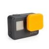 ฝาปิดเลนส์ ซิลิโคน GoPro Hero 5 6 Orange ส้ม