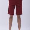 กางเกงสามส่วน สีแดง - Red