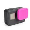 ฝาปิดเลนส์ ซิลิโคน GoPro Hero 5 6 Pink ชมพู