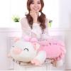 ตุ๊กตาหมูน้อยหมอนข้างน่ารักๆ สีชมพู