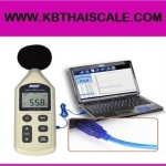 เครื่องวัดเสียง พร้อมซอฟต์แวร์ Compact A/C Level Meter 30-130dB