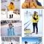 เสื้อกันหนาว SNOWVY : (สีส้มทอง) ทรงขนเป็ดเข้ารูป แขนยาวถึงมือ -15c เอาอยู่ thumbnail 47