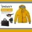 เสื้อกันหนาว SNOWVY : (สีส้มทอง) ทรงขนเป็ดเข้ารูป แขนยาวถึงมือ -15c เอาอยู่ thumbnail 6