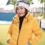 เสื้อกันหนาว SNOWVY : (สีส้มทอง) ทรงขนเป็ดเข้ารูป แขนยาวถึงมือ -15c เอาอยู่ thumbnail 30