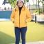 เสื้อกันหนาว SNOWVY : (สีส้มทอง) ทรงขนเป็ดเข้ารูป แขนยาวถึงมือ -15c เอาอยู่ thumbnail 26