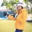 เสื้อกันหนาว SNOWVY : (สีส้มทอง) ทรงขนเป็ดเข้ารูป แขนยาวถึงมือ -15c เอาอยู่ thumbnail 33