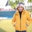 เสื้อกันหนาว SNOWVY : (สีส้มทอง) ทรงขนเป็ดเข้ารูป แขนยาวถึงมือ -15c เอาอยู่ thumbnail 27