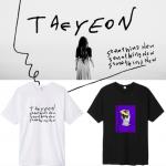 เสื้อยืด เสื้อแฟชั่นไอดอล #TaeYeon Something New