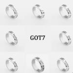 แหวนสลักชื่อ #GOT7 (ระบุชื่อศิลปินที่ช่องหมายเหตุ)