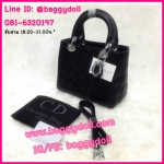 "Dior Lady 10"" กระเป๋าดิออร์ **เกรดAAA*** (เลือกสีด้านในค่ะ)"