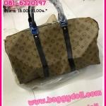 Louis Vuitton Keepall 45,50,55,60 กระเป๋าเดินทางหลุยส์ **เกรดAAA*** (เลือกลายด้านในค่ะ)