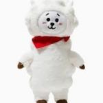 ตุ๊กตา [#BTS] BT21 : STANDING DOLL : RJ ( สินค้าออฟฟิเชียล)
