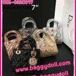 "Dior Lady 7"" กระเป๋าดิออร์ **เกรดAAA*** (เลือกสีด้านในค่ะ)"