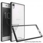 เคสแข็งใสขอบยางสี Sony Xperia XA1 Ultra