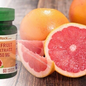 # ขาวใส # Piping Rock Grapefruit Seed 250 mg, 60 Capsules
