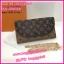 กระเป๋าสตางค์หลุยส์แบบมีสาย Louis wallet on chain **เกรดAAA** เลือกสีด้านในค่ะ thumbnail 3