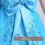 พร้อมเช่า ชุดแฟนซี ชุดราตรี สีฟ้า ลูกไม้ปัก แต่งโบว์ที่เอว กระโปรงพองสวยน่ารักมาก thumbnail 6