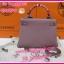 Hermes Kelly25 Togo Leather Silver Hardware **เกรดท๊อปมิลเลอร์** (Hi-End) thumbnail 4