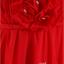 พร้อมเช่า ชุดราตรียาว สีแดง ไหล่เฉียง แต่งดอกไม้ช่วงอกและไหล่ thumbnail 8