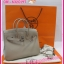Hermes Birkin25 Togo Leather Silver Hardware **เกรดท๊อปมิลเลอร์** (Hi-End) thumbnail 4