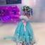 พร้อมเช่า ชุดแฟนซี ชุดราตรียาว สีฟ้ามิ้นต์ สไตล์เจ้าหญิง สีสดใส แต่งลูกไม้ขาว ช่วงอกปักเลื่อม thumbnail 15