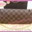 Louis Vuitton Damier Canvas Eva Clutch Bag **เกรดท๊อปมิลเลอร์** (Hi-End) thumbnail 4