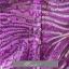 พร้อมเช่า ชุดแฟนซี ชุดราตรียาว เกาะอก สีม่วง ผ้าปักเลื่อม คลุมผ้าโปร่งจับจีบกระตุก thumbnail 7