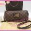 Louis Vuitton Damier Canvas Eva Clutch Bag **เกรดท๊อปมิลเลอร์** (Hi-End) thumbnail 1