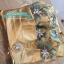 พร้อมส่ง ชุดราตรียาว สีทอง เกาะอกลูกไม้ปัก ทรงหางปลา ผ้าซาติน thumbnail 17