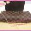 Louis Vuitton Damier Canvas Eva Clutch Bag **เกรดท๊อปมิลเลอร์** (Hi-End) thumbnail 5
