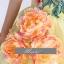 พร้อมเช่า ชุดแฟนซี ชุดราตรียาว สีเหลืองอ่อน ไหล่เฉียง แต่งระบายผ้าแก้ว และดอก Peony thumbnail 8