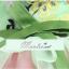 พร้อมเช่า ชุดแฟนซี ชุดราตรีสั้น เกาะอก สีเขียว กระโปรงระบายสีชมพูหวาน อกจับจีบแต่งลายสวย thumbnail 9