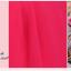 พร้อมเช่า ชุดราตรีสั้น แบบเกาะอก ผ้าชีฟอง ช่วงอกอัดพลีท แต่งดอกที่เอว สีม่วง thumbnail 7