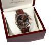 นาฬิกาข้อมือเลสเตอร์ ซิตี้ของแท้ Fox & Crop Brown Strap Watch