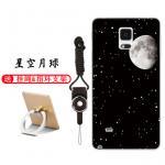 เคส Samsung Note 4 ซิลิโคน soft case สกรีนลายการ์ตูนพร้อมแหวนและสายคล้อง (รูปแบบแล้วแต่ร้านจีนแถมมา) น่ารักมาก แบบที่ 1