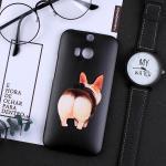 เคส HTC One M8 พลาสติกสกรีนลายน่ารักๆ เท่ หลายแนว แบบที่ 14