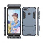 เคส Huawei Y9 (2018) เคสกันกระแทกแยกประกอบ 2 ชิ้น ด้านในเป็นซิลิโคนสีดำ ด้านนอกพลาสติกเคลือบเงาโลหะเมทัลลิค แบบที่ 4