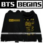เสื้อฮู้ด BTS - BEGINS (สีดำ)
