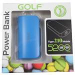 Power Bank Golf 5200 mAh Tiger 210 - สีฟ้า