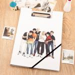 แฟ้มหนา EXO Overdose EXO K
